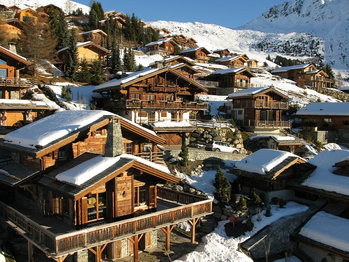 Verbier in Switzeland
