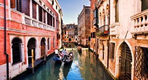 Travelling to venice
