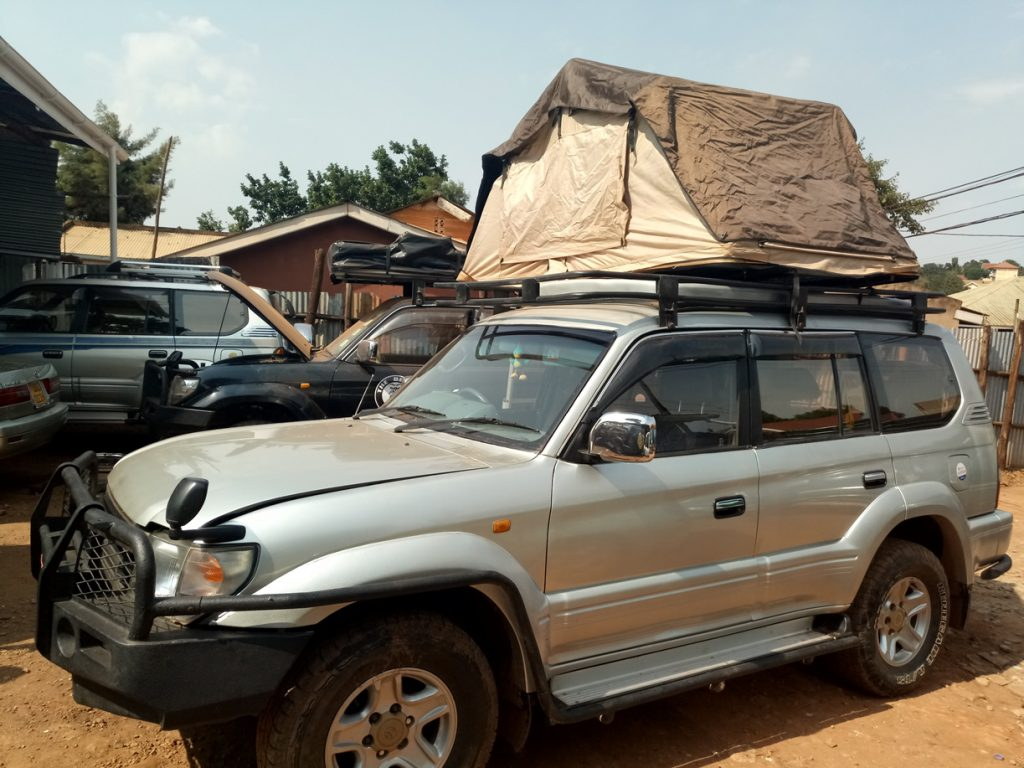Rent 4X4 Rooftop Tent Car Hire in Uganda